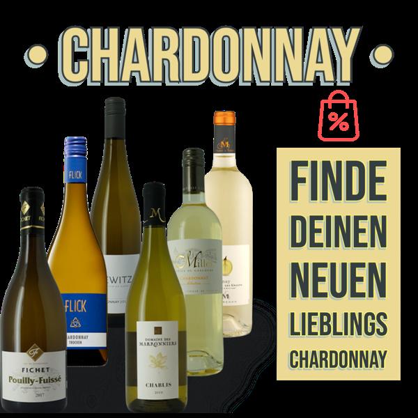 6 Chardonnay zum Verlieben